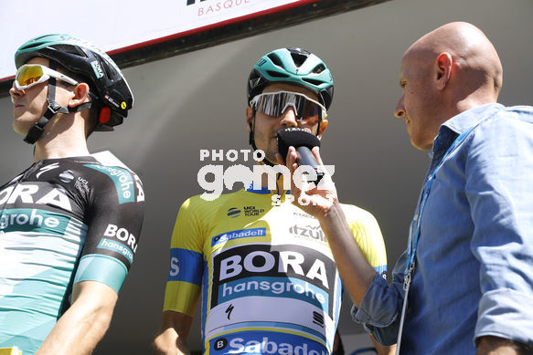 Cycling: Itzulia / Vuelta a País Vasco / Tour Basque Country / Stage 6 / Etapa 6<BR>DESCRIPTION / DESCRIPCION / BUCHMANN, Emanuel (GER) Maillot lider/ Leader Jersey/<BR>Eibar - Eibar (118,2 Km)  13-04-2019 / Tour Basque Country / Luis Angel Gomez ©PHOTOGOMEZS