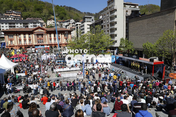 Cycling: Itzulia / Vuelta a País Vasco / Tour Basque Country / Stage 6 / Etapa 6<BR>DESCRIPTION / DESCRIPCION / Team Jumbo - Visma<BR>Eibar - Eibar (118,2 Km)  13-04-2019 / Tour Basque Country / Luis Angel Gomez ©PHOTOGOMEZSPORT2019