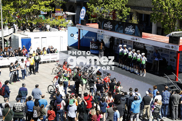 Cycling: Itzulia / Vuelta a País Vasco / Tour Basque Country / Stage 6 / Etapa 6<BR>DESCRIPTION / DESCRIPCION / Team Dimension data/<BR>Eibar - Eibar (118,2 Km)  13-04-2019 / Tour Basque Country / Luis Angel Gomez ©PHOTOGOMEZSPORT2019