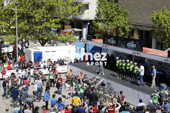 Cycling: Itzulia / Vuelta a País Vasco / Tour Basque Country / Stage 6 / Etapa 6<BR>DESCRIPTION / DESCRIPCION / Team Euskadi Basque Country - Murias<BR>Eibar - Eibar (118,2 Km)  13-04-2019 / Tour Basque Country / Luis Angel Gomez ©PHOTOGOMEZSPORT2019