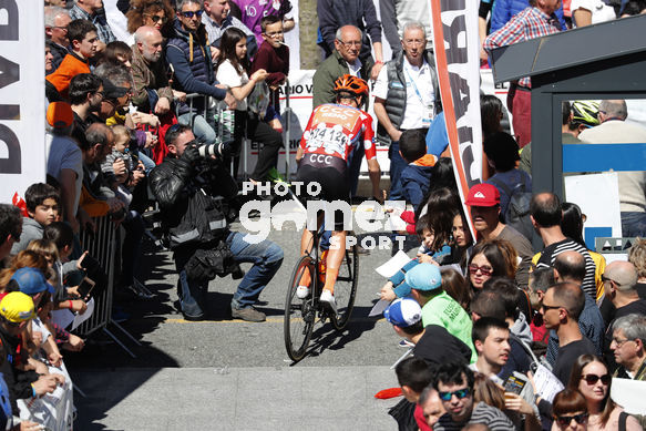 Cycling: Itzulia / Vuelta a País Vasco / Tour Basque Country / Stage 6 / Etapa 6<BR>DESCRIPTION / DESCRIPCION / DE MARCHI, Alessandro (ITA) Maillot Montaña/ Mountain Jersey/ <BR>Eibar - Eibar (118,2 Km)  13-04-2019 / Tour Basque Country / Luis Angel Gomez ©P