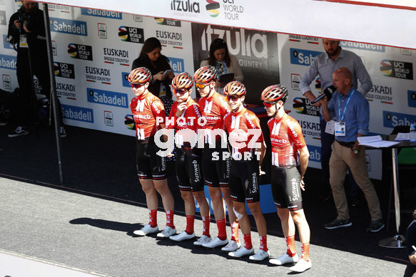Cycling: Itzulia / Vuelta a País Vasco / Tour Basque Country / Stage 6 / Etapa 6<BR>DESCRIPTION / DESCRIPCION / Team Sunweb<BR>Eibar - Eibar (118,2 Km)  13-04-2019 / Tour Basque Country / Luis Angel Gomez ©PHOTOGOMEZSPORT2019