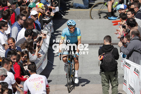 Cycling: Itzulia / Vuelta a País Vasco / Tour Basque Country / Stage 6 / Etapa 6<BR>DESCRIPTION / DESCRIPCION / FULSANG, Jacob (DEN)<BR>Eibar - Eibar (118,2 Km)  13-04-2019 / Tour Basque Country / Luis Angel Gomez ©PHOTOGOMEZSPORT2019