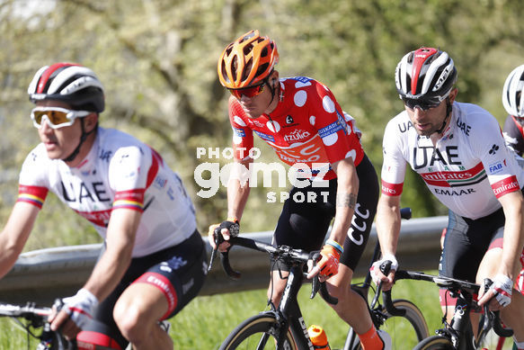 Cycling: Itzulia / Vuelta a País Vasco / Tour Basque Country / Stage 6 / Etapa 6<BR>Bunch / Peloton / DE MARCHI, Alessandro (ITA)<BR>Eibar - Eibar (118,2 Km)  13-04-2019 / Tour Basque Country / Luis Angel Gomez ©PHOTOGOMEZSPORT2019