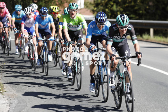 Cycling: Itzulia / Vuelta a País Vasco / Tour Basque Country / Stage 6 / Etapa 6<BR>Bunch / Peloton / MC CARTHY, Jay (AUS) VERONA, Carlos (ESP) <BR>Eibar - Eibar (118,2 Km)  13-04-2019 / Tour Basque Country / Luis Angel Gomez ©PHOTOGOMEZSPORT2019