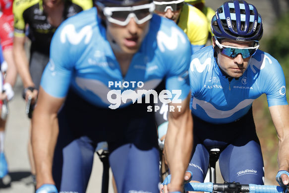 Cycling: Itzulia / Vuelta a País Vasco / Tour Basque Country / Stage 6 / Etapa 6<BR>Bunch / Peloton / LANDA, Mikel (ESP) <BR>Eibar - Eibar (118,2 Km)  13-04-2019 / Tour Basque Country / Luis Angel Gomez ©PHOTOGOMEZSPORT2019