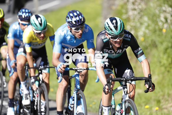 Cycling: Itzulia / Vuelta a País Vasco / Tour Basque Country / Stage 6 / Etapa 6<BR>Bunch / Peloton / MC CARTHY, Jay (AUS) VERONA, Carlos (ESP) BUCHMANN, Emanuel (GER)<BR>Eibar - Eibar (118,2 Km)  13-04-2019 / Tour Basque Country / Luis Angel Gomez ©PHOTOGOME