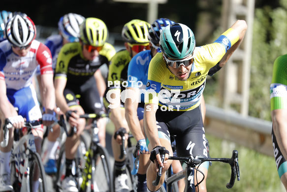 Cycling: Itzulia / Vuelta a País Vasco / Tour Basque Country / Stage 6 / Etapa 6<BR>Bunch / Peloton / BUCHMANN, Emanuel (GER) <BR>Eibar - Eibar (118,2 Km)  13-04-2019 / Tour Basque Country / Luis Angel Gomez ©PHOTOGOMEZSPORT2019