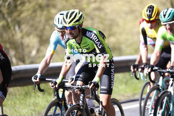 Cycling: Itzulia / Vuelta a País Vasco / Tour Basque Country / Stage 6 / Etapa 6<BR>Bunch / Peloton / BIZKARRA, Mikel (ESP)<BR>Eibar - Eibar (118,2 Km)  13-04-2019 / Tour Basque Country / Luis Angel Gomez ©PHOTOGOMEZSPORT2019