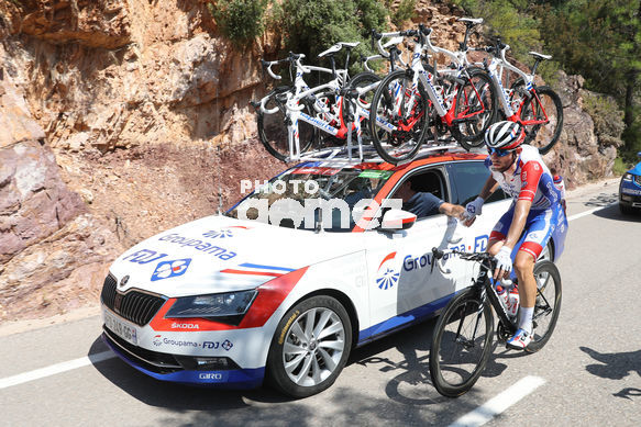 Cycling: Vuelta España 2019 / Tour of Spain 2019/ La Vuelta/ Etapa 7/ Stage 7/ <BR>THOMAS Benjamin (FRA)<BR>Onda - Mas de la Costa (183,2 km) 30-08-2019/<BR>Vuelta España 2019 / La Vuelta/ Tour of Spain 2019/<BR>Luis Angel Gomez <BR>©PHOTOGOMEZSPORT2019