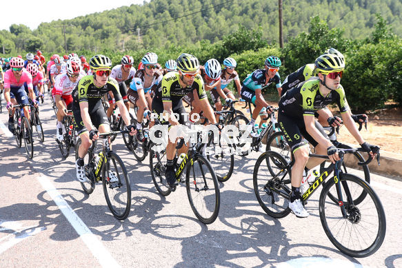 Cycling: Vuelta España 2019 / Tour of Spain 2019/ La Vuelta/ Etapa 7/ Stage 7/ <BR>PELOTON<BR>Onda - Mas de la Costa (183,2 km) 30-08-2019/<BR>Vuelta España 2019 / La Vuelta/ Tour of Spain 2019/<BR>Luis Angel Gomez <BR>©PHOTOGOMEZSPORT2019