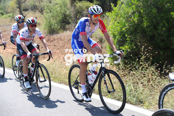 Cycling: Vuelta España 2019 / Tour of Spain 2019/ La Vuelta/ Etapa 7/ Stage 7/ <BR>MORABITO Steve (SUI)<BR>Onda - Mas de la Costa (183,2 km) 30-08-2019/<BR>Vuelta España 2019 / La Vuelta/ Tour of Spain 2019/<BR>Luis Angel Gomez <BR>©PHOTOGOMEZSPORT2019