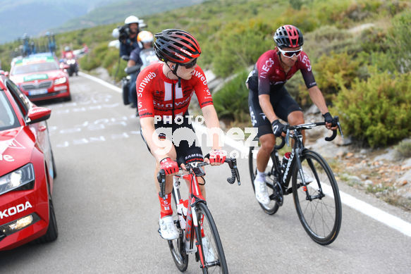 Cycling: Vuelta España 2019 / Tour of Spain 2019/ La Vuelta/ Etapa 7/ Stage 7/ <BR>HENAO GOMEZ Sebastian (COL)/ STORER Michael (AUS)<BR>Onda - Mas de la Costa (183,2 km) 30-08-2019/<BR>Vuelta España 2019 / La Vuelta/ Tour of Spain 2019/<BR>Luis Angel Gomez <BR>©PHOTO