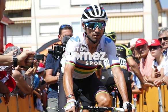 Cycling: Vuelta España 2019 / Tour of Spain 2019/ La Vuelta/ Etapa 8/ Stage 8/ <BR>VALVERDE Alejandro (ESP)<BR>Valls - Igualada (166,9 km) 31-08-2019/<BR>Vuelta España 2019 / La Vuelta/ Tour of Spain 2019/<BR>Luis Angel Gomez <BR>©PHOTOGOMEZSPORT2019