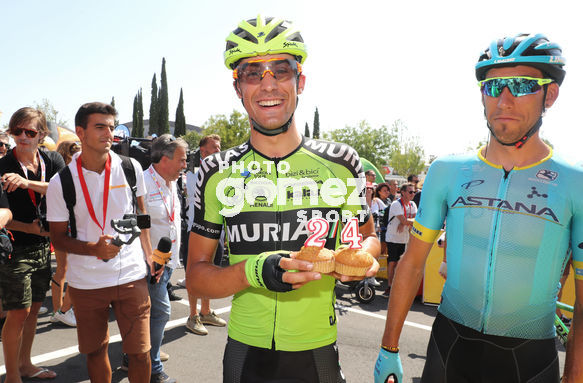 Cycling: Vuelta España 2019 / Tour of Spain 2019/ La Vuelta/ Etapa 8/ Stage 8/ <BR>SAEZ  Hector (ESP)<BR>Valls - Igualada (166,9 km) 31-08-2019/<BR>Vuelta España 2019 / La Vuelta/ Tour of Spain 2019/<BR>Luis Angel Gomez <BR>©PHOTOGOMEZSPORT2019