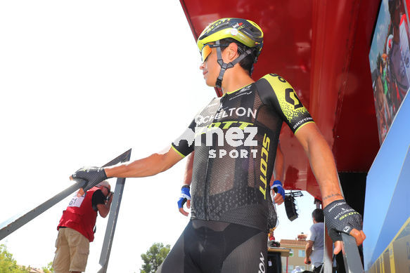 Cycling: Vuelta España 2019 / Tour of Spain 2019/ La Vuelta/ Etapa 8/ Stage 8/ <BR>CHAVES Jhoan Esteban (COL)<BR>Valls - Igualada (166,9 km) 31-08-2019/<BR>Vuelta España 2019 / La Vuelta/ Tour of Spain 2019/<BR>Luis Angel Gomez <BR>©PHOTOGOMEZSPORT2019