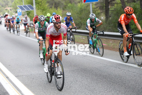 Cycling: Vuelta España 2019 / Tour of Spain 2019/ La Vuelta/ Etapa 8/ Stage 8/ <BR>ESCAPADA BREAKAWAY/ HERRADA Jesus (ESP)<BR>Valls - Igualada (166,9 km) 31-08-2019/<BR>Vuelta España 2019 / La Vuelta/ Tour of Spain 2019/<BR>Luis Angel Gomez <BR>©PHOTOGOMEZSPORT2019