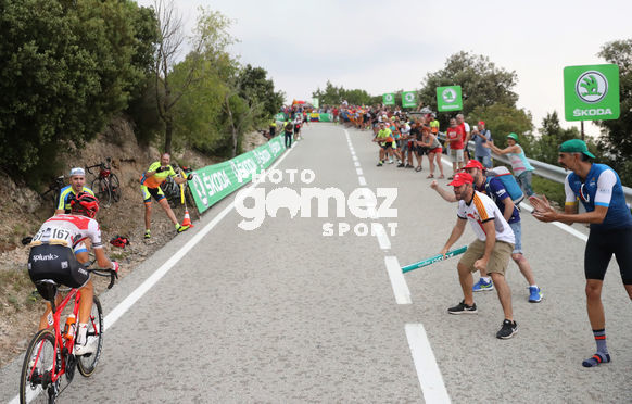 Cycling: Vuelta España 2019 / Tour of Spain 2019/ La Vuelta/ Etapa 8/ Stage 8/ <BR>ESCAPADA BREAKAWAY/ STETINA Peter (USA)<BR>Valls - Igualada (166,9 km) 31-08-2019/<BR>Vuelta España 2019 / La Vuelta/ Tour of Spain 2019/<BR>Luis Angel Gomez <BR>©PHOTOGOMEZSPORT2019