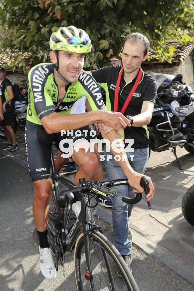 Cycling: Vuelta España 2019 / Tour of Spain 2019/ La Vuelta/ Etapa 11/ Stage 11/ <BR>Celebration Celebración /  ITURRIA SEGUROLA Mikel (ESP)/<BR>Saint Palais  - Urdax-Dantxarinea (180 km) 04-09-2019/<BR>Vuelta España 2019 / La Vuelta/ Tour of Spain 2019/<BR>Luis A