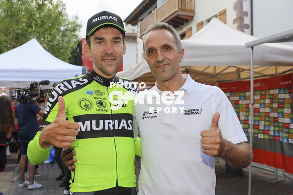 Cycling: Vuelta España 2019 / Tour of Spain 2019/ La Vuelta/ Etapa 11/ Stage 11/ <BR>Finish / Meta / ITURRIA SEGUROLA Mikel (ESP) ODRIOZOLA, Ion (ESP)<BR>Saint Palais  - Urdax-Dantxarinea (180 km) 04-09-2019/<BR>Vuelta España 2019 / La Vuelta/ Tour of Spain 2019