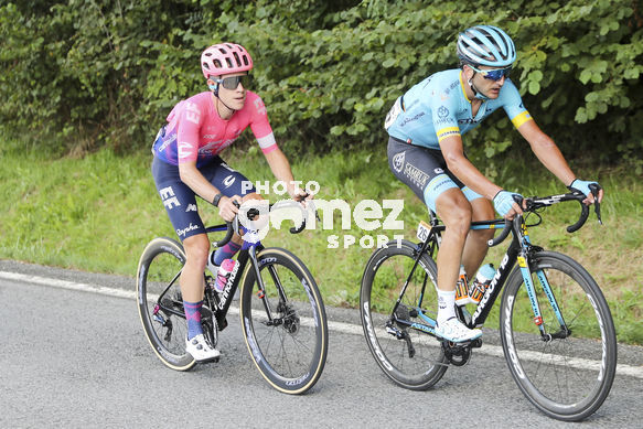 Cycling: Vuelta España 2019 / Tour of Spain 2019/ La Vuelta/ Etapa 11/ Stage 11/ <BR>Breakaway / Escapada / IZAGIRRE INSAUSTI Gorka (ESP) ARANBURU DEBA Alexander (ESP)  <BR>Saint Palais  - Urdax-Dantxarinea (180 km) 04-09-2019/<BR>Vuelta España 2019 / La Vuelta/