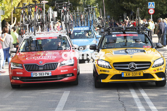 Cycling: Vuelta España 2019 / Tour of Spain 2019/ La Vuelta/ Etapa 21/ Stage 21/ <BR>COCHES EQUIPOS/ TEAM CARS/ <BR>Fuenlabrada - Madrid (106,6 km) 15-09-2019/<BR>Vuelta España 2019 / La Vuelta/ Tour of Spain 2019/<BR>Luis Angel Gomez <BR>©PHOTOGOMEZSPORT2019