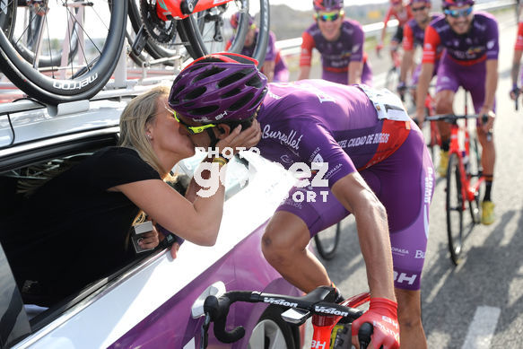 Cycling: Vuelta España 2019 / Tour of Spain 2019/ La Vuelta/ Etapa 21/ Stage 21/ <BR>PEDIDA DE MANO/ Matrimonio/ marriage/ EZQUERRA MUELA Jesus (ESP)<BR>Fuenlabrada - Madrid (106,6 km) 15-09-2019/<BR>Vuelta España 2019 / La Vuelta/ Tour of Spain 2019/<BR>Luis Angel