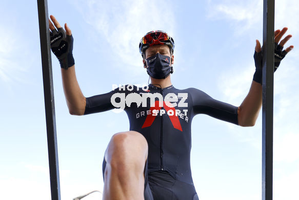Cycling: Vuelta España 2020 / Tour Spain 2020 / 11 Etapa / 11 Stage / <BR> / <BR>Villaviciosa - Alto de la Farrapona (170 km) 31-10-2020/<BR>Cycling: Vuelta España 2020 / Tour Spain 2020 / 11 Etapa / 11 Stage / <BR>©PHOTOGOMEZSPORT2020