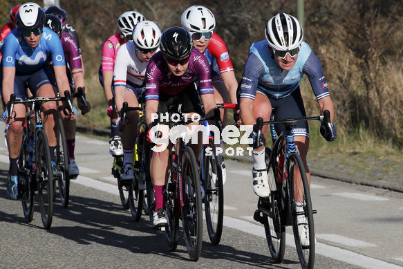Cycling: Women Oxyclean Brugge - De Panne 2021 / Mujeres Oxyclean Brujas - De Panne 2021 /<BR>Atack/ Ataque /<BR>PIETERS, A my (NED) Team SD Worx HOSKING, Chloe (AUS) Trek Segafredo Women /<BR>Oxyclean Brugge - De Panne 2021 / Mujeres Oxyclean Brujas - De Panne 20